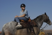 Markéta na koni